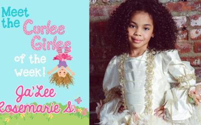 Curlee Girlee of the Week: Jalee Rosemarie S.