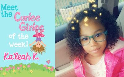 Curlee Girlee of the Week: Ka'leah K.
