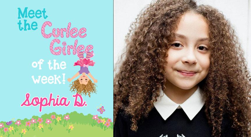 Curlee Girlee of the Week: Sophia D.