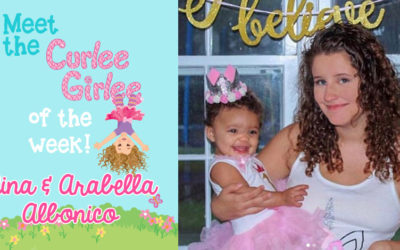 Curlee Girlee of the Week: Nina and Arabella A.